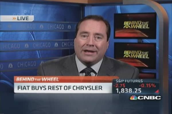 Fiat buys remaining stake in Chrysler