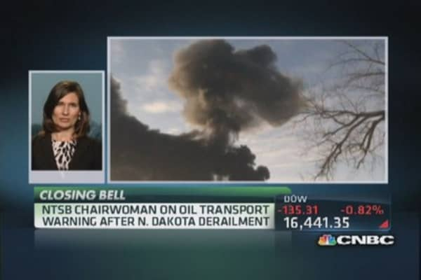 NTSB chair: Infrastructure issues & the bakken