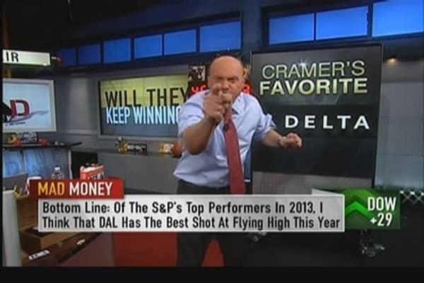 Cramer's favorite S&P performer: Delta Airlines