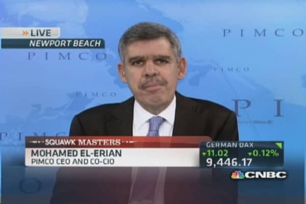 Fed out of QE by year's end but low rates linger: El-Erian