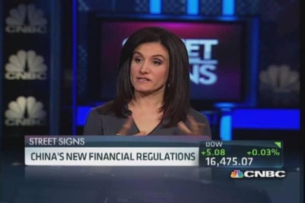 China's new financial regulations