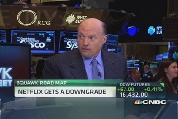 Cramer: NFLX downgrade premature?