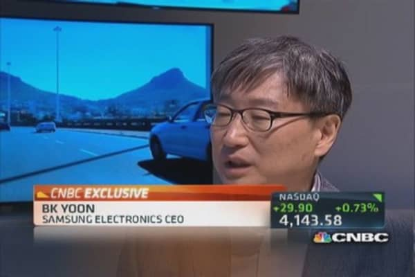 Samsung CEO: Goal is open ecosystem