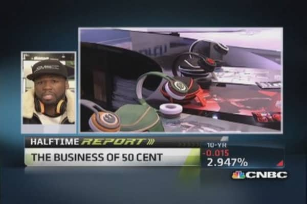 50 Cent: Feel really good about new headphone line