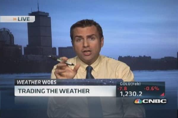 US weather 'bone chilling'