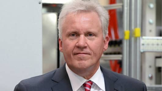 Jeff Immelt, chairman and CEO of General Electric.