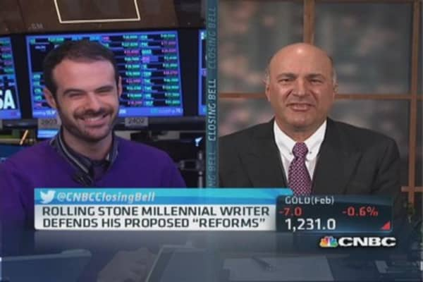 Shark Tank's O'Leary offers Rolling Stone writer a gig