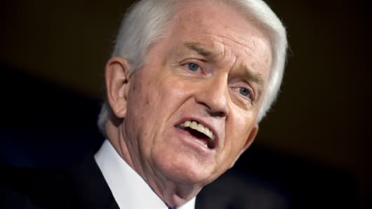 Tom Donohue, president of the U.S. Chamber of Commerce.