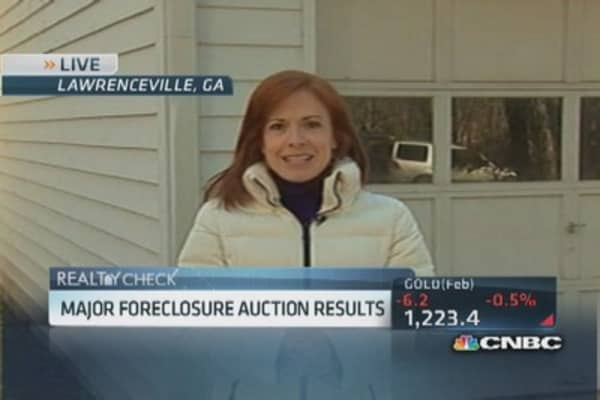 Investors break into foreclosed homes