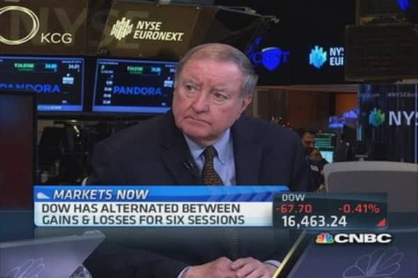 Art Cashin: I'm encouraged by the economy