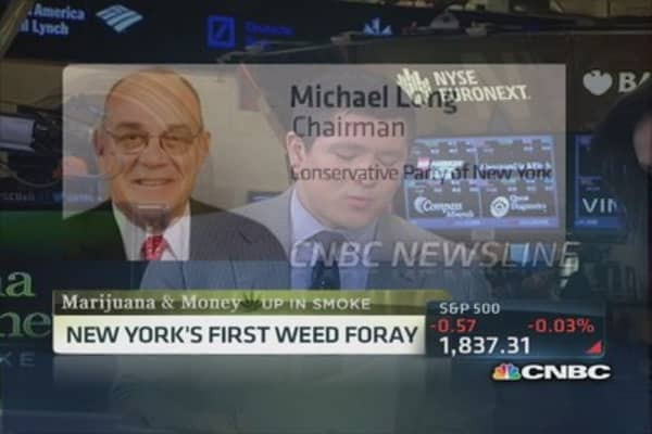New York rolls with medical weed