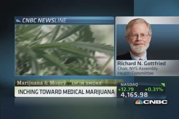 Medical use of marijuana is legitimate: NY lawmaker