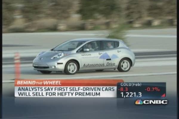 Nissan's autonomous push