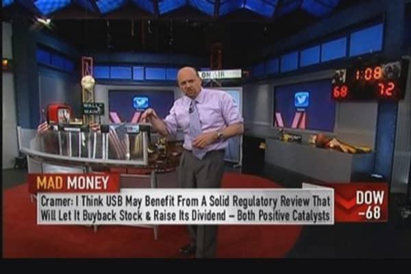 Be bullish now, in spite of analysts: Cramer