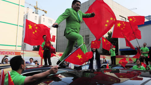Chinese billionaire and philanthropist Chen Guangbiao.