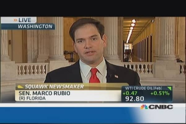 Sen. Rubio's war on poverty