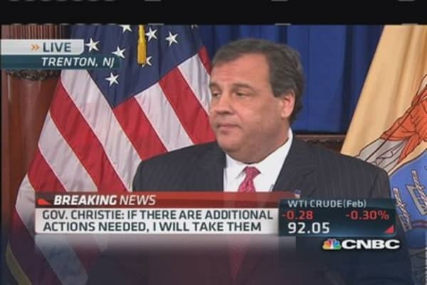 Gov. Christie: Heartbroken & betrayed by staff
