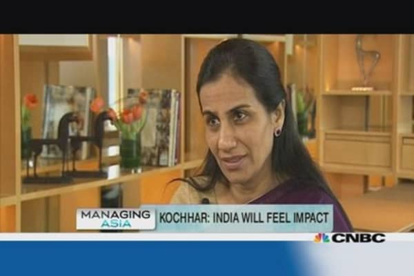 Worst is over for India: ICICI Bank