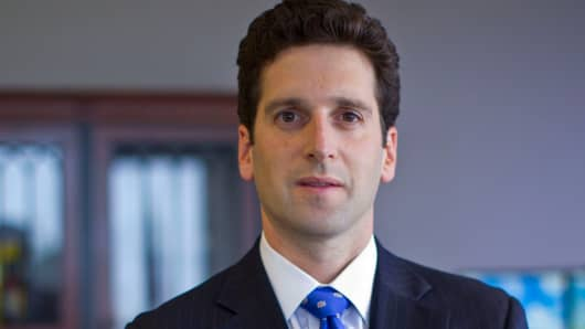 Benjamin Lawsky, superintendent of New York state's Department of Financial Services