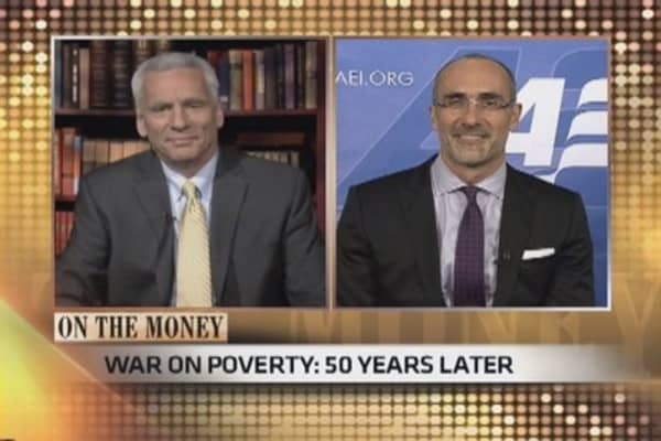 Who's winning 'war on poverty'