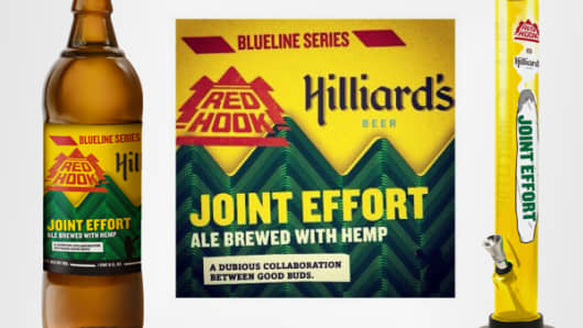 Two Washington state brewers released a collaboration, Joint Effort, in July.