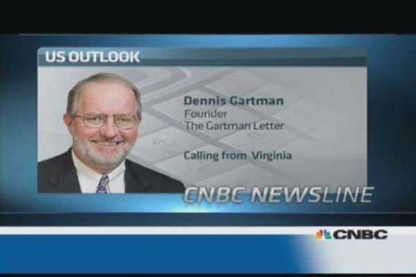 It's 'absurd' to pay attention to jobs number: Gartman
