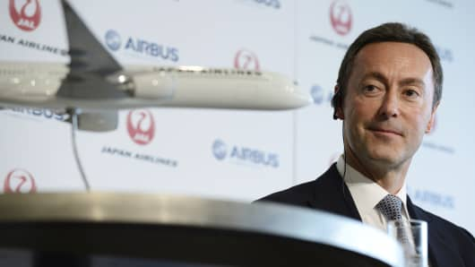 Fabrice Bregier, chief executive officer of Airbus