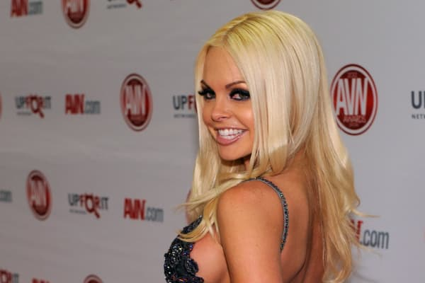 Adult film actress Jesse Jane.