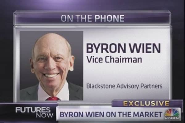 Byron Wien: A 10 percent correction looms -  here's why