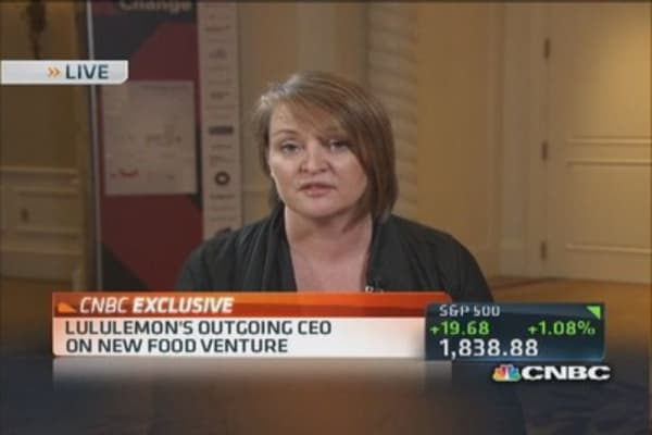 Lululemon outgoing CEO on food venture