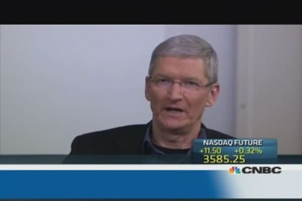 Apple plays 'for the long-term' in China: Cook