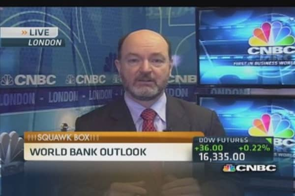 World Bank: Positive story for global economy