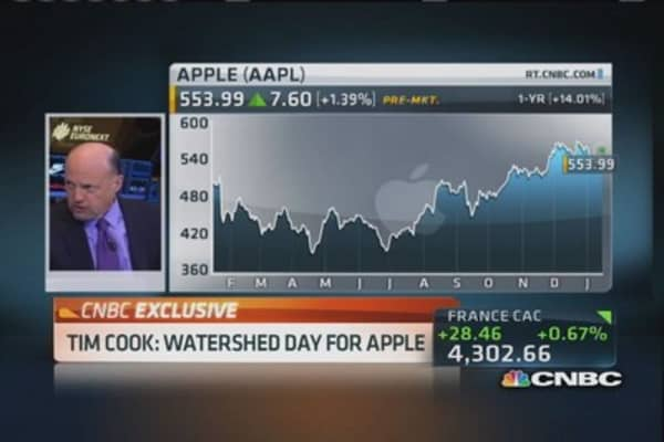 Cramer: Wall Street has been sleeping on Apple-China deal