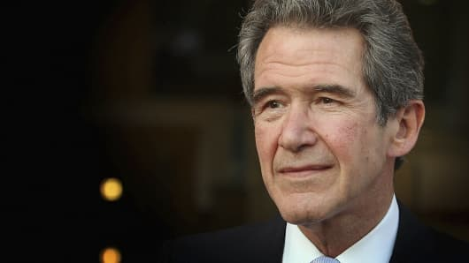 Former Chief Executive of British Petroleum Lord Browne.