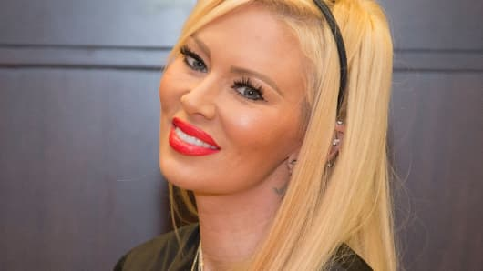 Jenna Jameson, pictured here last year, is credited with helping to bring adult entertainment into the mainstream.