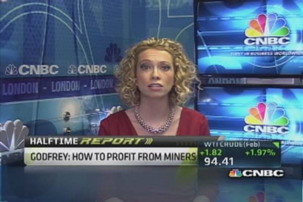 Gold miners poised to shine?