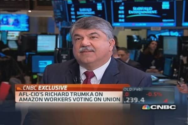 AFL-CIO pres.: Unions give workers a strong voice