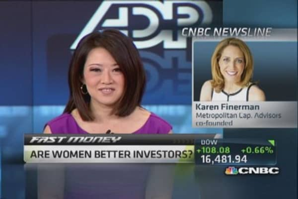 Are women better investors?
