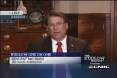 Gov. McCrory: Pay off debt