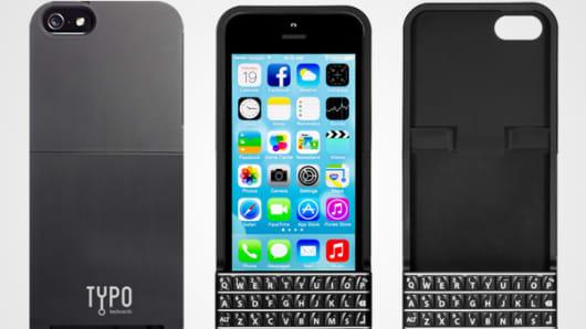 Typo iPhone Keyboard Case.