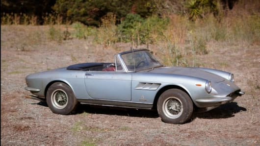 Rusted but wanted? The '67 Ferrari up for auction