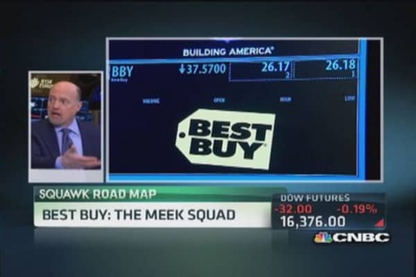 Cramer: Best Buy needs a reset