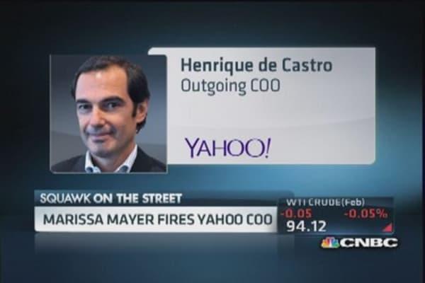 Marissa Mayer fires Yahoo COO