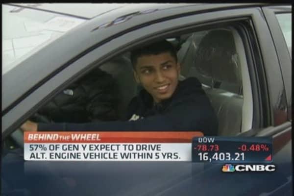 'Gen Y' not buying cars