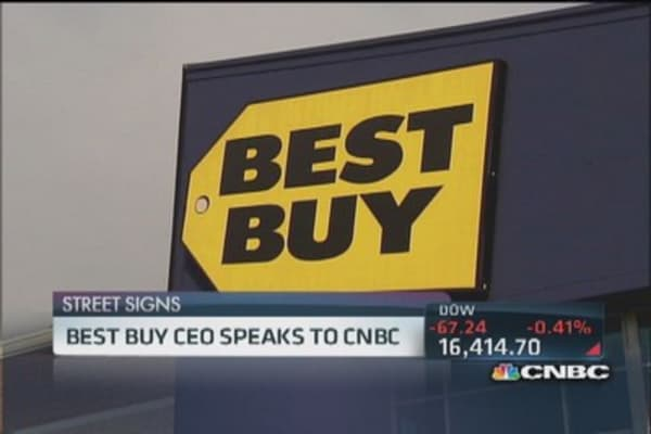Best Buy CEO to CNBC: Promotional climate 'extreme'