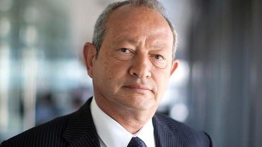 Egyptian billionaire Naguib Sawiris.