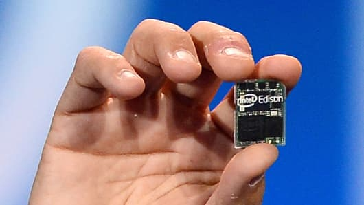 Intel's Edison chip