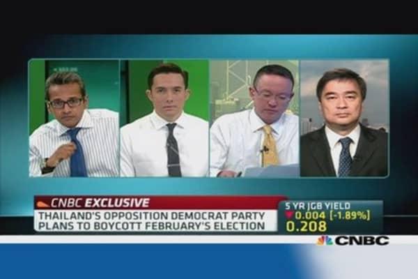 Thai Democrat Party: Why we are boycotting electios