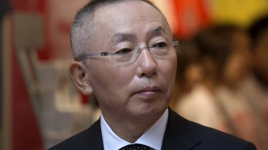 Tadashi Yanai, chairman, president and chief executive officer of Fast Retailing Co.