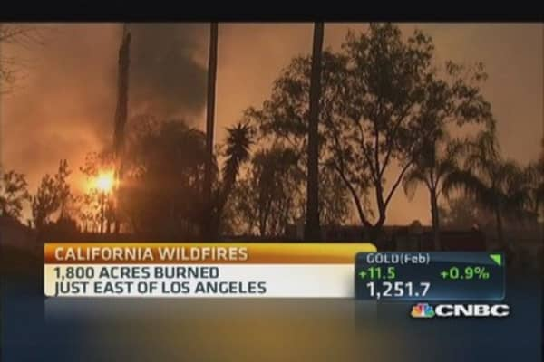 SoCal wild fires continue to rage